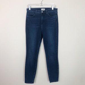 L'AGENCE Margot Hi Rise Skinny Jeans